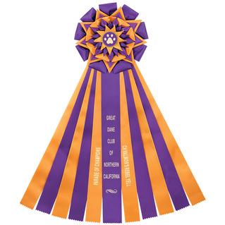 Witley Dog Show Ribbon Rosette   Dog Show Award Ribbons